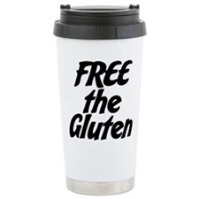 FREE the Gluten Travel Mug