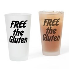 FREE the Gluten Drinking Glass