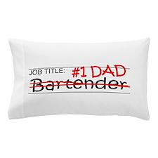 Job Dad Bartender Pillow Case