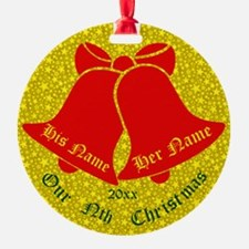 Our Nth X'mas Personalize It Ornament