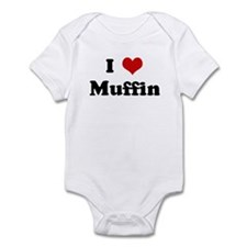 I Love Muffin Infant Bodysuit