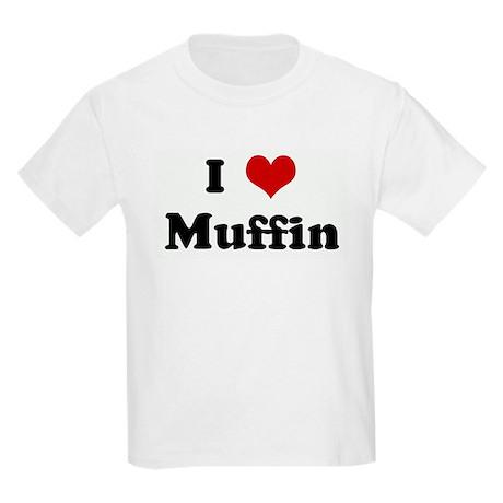 I Love Muffin Kids Light T-Shirt