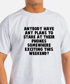 Stare At Phones T-Shirt