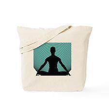 Namaste-green Tote Bag