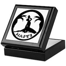 Haiti-Call-BW.gif Keepsake Box