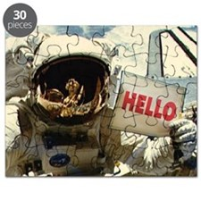 Outer Space Hello Puzzle