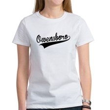 Owensboro, Retro, T-Shirt