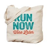 Running Canvas Totes