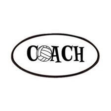 Volleyball Coach Patches