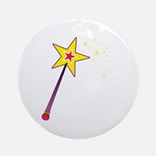 Magic Wand Ornament (Round)