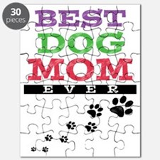 Best Dog Mom Ever Puzzle