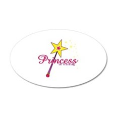 Pricess in training Wall Decal