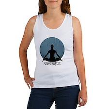 Namaste-slate-blu Women's Tank Top
