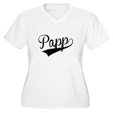 Papp, Retro, Plus Size T-Shirt