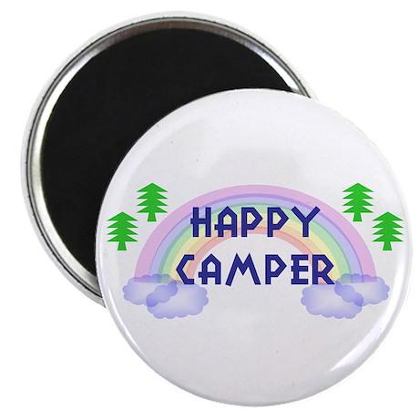 """""""Happy Camper"""" Magnet"""