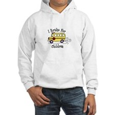 I Brake For Children Hoodie