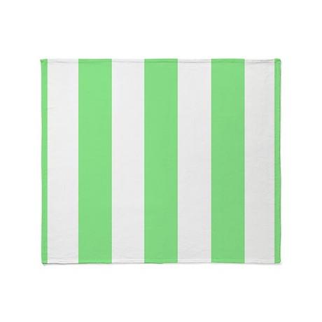 lime green stripes throw blanket by stripstrapstripes. Black Bedroom Furniture Sets. Home Design Ideas