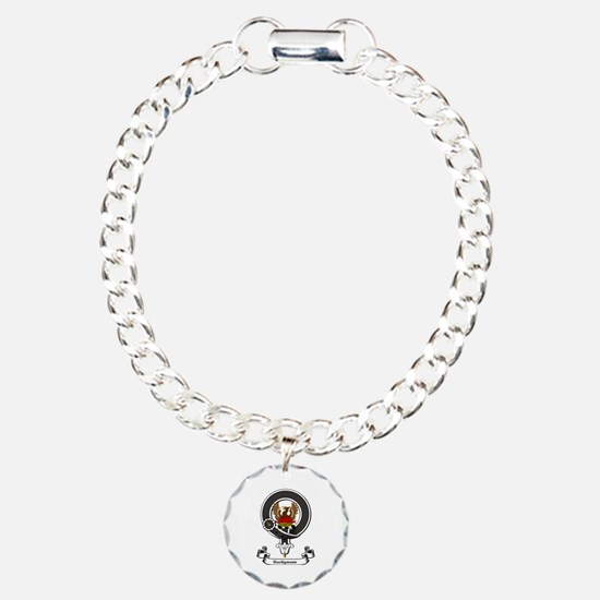 Badge-Snodgrass Charm Bracelet, One Charm
