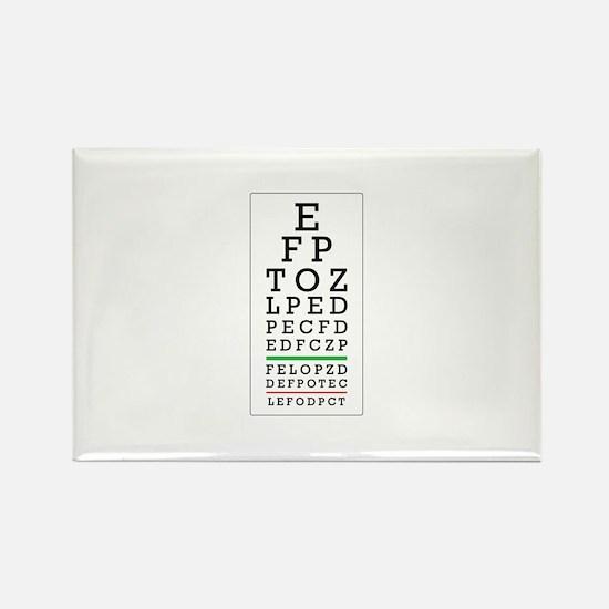 Eye Chart Magnets