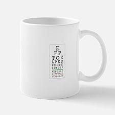 Eye Chart Mugs