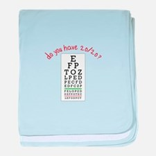 do you have 20/20? baby blanket