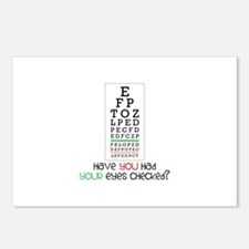 Have yoU Had youR eyes CHecked? Postcards (Package