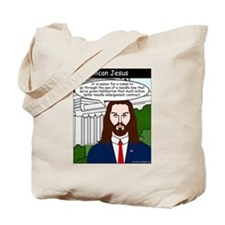 Cute Christian left Tote Bag