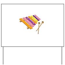 Xylophone Yard Sign