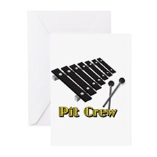 Pit Crew Greeting Cards
