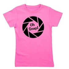Unique Oh snap Girl's Tee