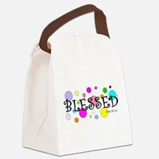 I am Blessed Canvas Lunch Bag