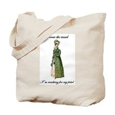 Straight Shooter Tote Bag