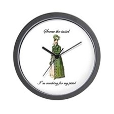 Straight Shooter Wall Clock
