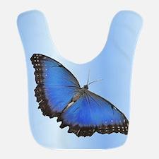 Blue Butterfly In Flight Bib