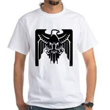 Black Eagle Spread Wings Symbol Coat of Arms T-Shi
