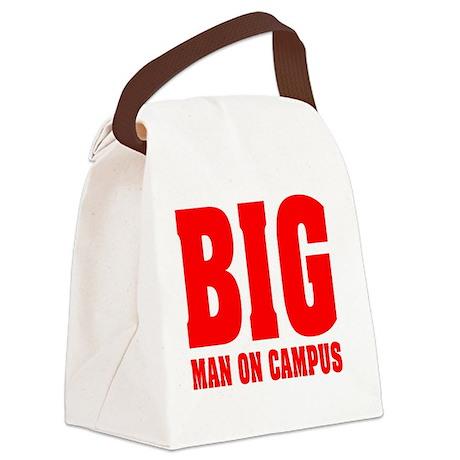 BIG man on campus: Canvas Lunch Bag
