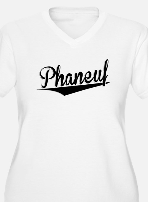 Phaneuf, Retro, Plus Size T-Shirt