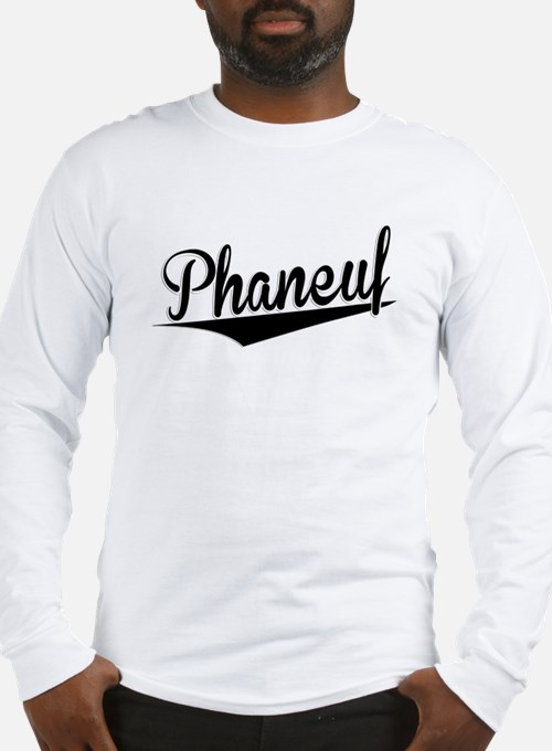 Phaneuf, Retro, Long Sleeve T-Shirt