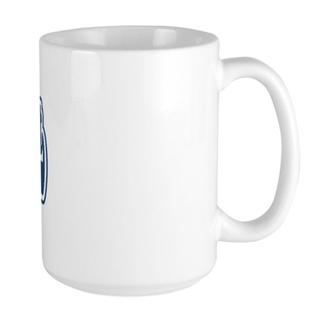 WB Dad [Serbian] Large Mug