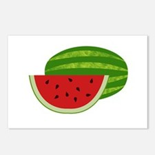 Summertime Watermelons Postcards (Package of 8)