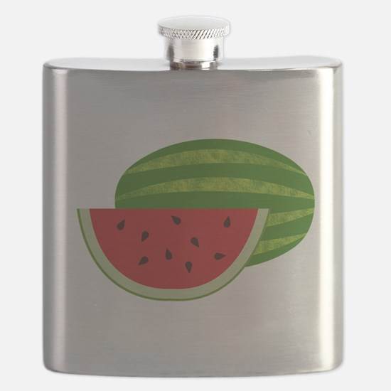 Summertime Watermelons Flask