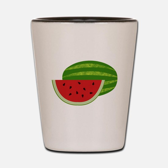 Summertime Watermelons Shot Glass