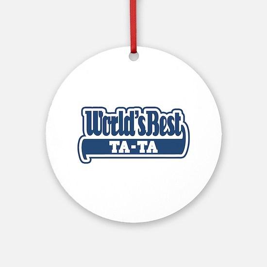 WB Dad [Serbian] Ornament (Round)