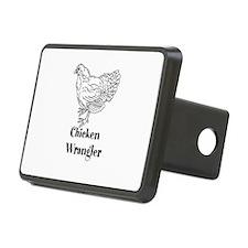 Chicken Wrangler Hitch Cover