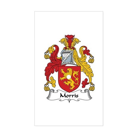 Morris (Wales) Rectangle Sticker