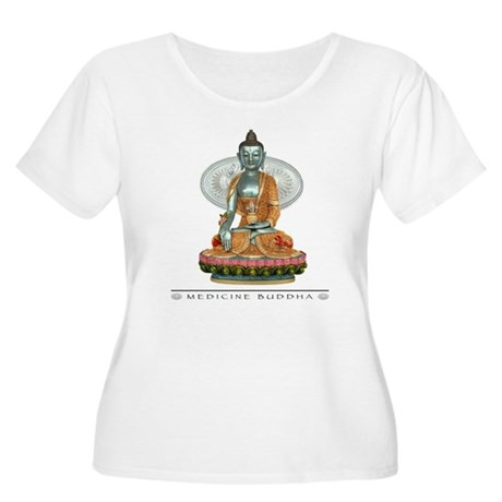 Medicine Buddha Women's Plus Size Scoop Neck T-Shi