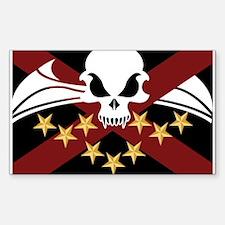 League Alliance Flag Decal