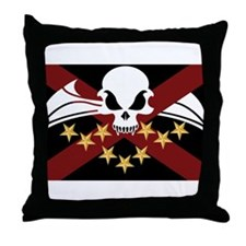 League Alliance Flag Throw Pillow
