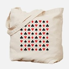 Card Suits Tote Bag