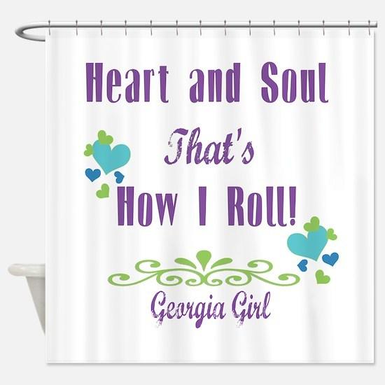Georgia Girl Shower Curtain